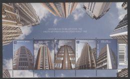 Belgium - 2010 Architecture Block MNH__(THB-1760) - Bloques 1962-....