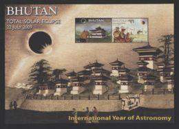 Bhutan - 2009 Total Solar Eclipse Block MNH__(FIL-7343) - Bhutan