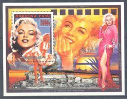 Burkina Faso - 1995 Marilyn Monroe Block (1) MNH__(TH-6053) - Burkina Faso (1984-...)