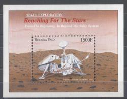 Burkina Faso - 2000 Conquest Of Space Block (3) MNH__(TH-10429) - Burkina Faso (1984-...)