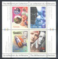 Canada - 1999 Millennium (III) Block (1) MNH__(THB-2104) - Blocs-feuillets