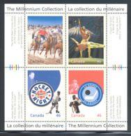 Canada - 1999 Millennium (III) Block (2) MNH__(THB-2111) - Blocs-feuillets