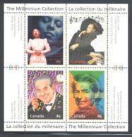 Canada - 1999 Millennium (III) Block (3) MNH__(THB-2109) - Blocs-feuillets