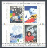 Canada - 1999 Millennium (III) Block (4) MNH__(THB-2106) - Blocs-feuillets