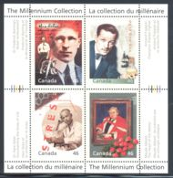 Canada - 2000 Millennium (IV) Block (1) MNH__(THB-2115) - Blocs-feuillets