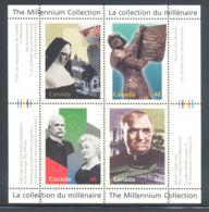 Canada - 2000 Millennium (IV) Block (2) MNH__(THB-2114) - Blocs-feuillets