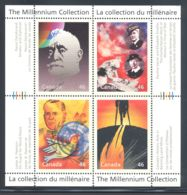 Canada - 2000 Millennium (IV) Block (4) MNH__(THB-2112) - Blocs-feuillets