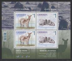 Canada - 2005 Animals Block MNH__(THB-676) - Blocs-feuillets