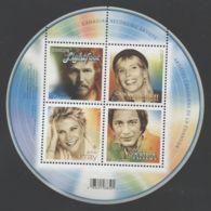 Canada - 2007 Canadian Record Artists Block MNH__(THB-2273) - Blocs-feuillets