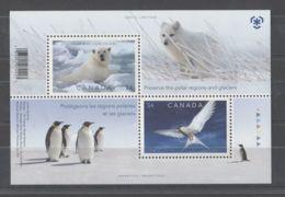 Canada - 2009 Polar Regions And Glaciers Block MNH__(TH-8207) - Blocs-feuillets