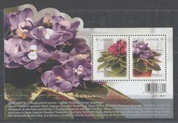 Canada - 2010 African Violets Block MNH__(TH-8208) - Blocs-feuillets