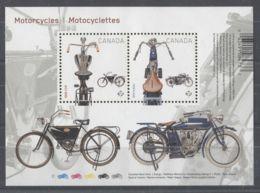 Canada - 2013 Canadian Light Motorcycles Block MNH__(TH-10005) - Blocs-feuillets