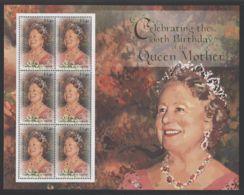 Canouan - 2000 Queen Mother Elisabeth Kleinbogen MNH__(THB-4066) - St.Vincent Und Die Grenadinen