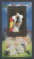 Chad - 1982 Results And Player Of The Football Gold Stamp Block (1) MNH__(TH-13107) - Ciad (1960-...)