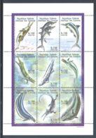 Comoros - 1998 Prehistoric Animals Kleinbogen (1) MNH__(THB-3676) - Comores (1975-...)