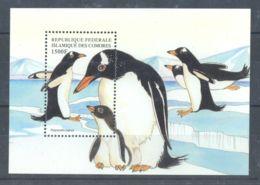 Comoros - 1999 Rare Animals Block (7) MNH__(TH-3785) - Komoren (1975-...)