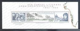 Denmark - 2003 Danish Literary Greenland Expedition Block MNH__(THB-3291) - Blocchi & Foglietti