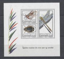 Denmark - 2003 Rare Insects Block MNH__(TH-14271) - Blocchi & Foglietti