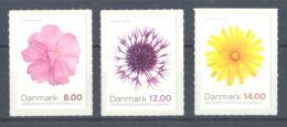 Denmark - 2012 Autumn Flowers MNH__(TH-1576) - Dänemark