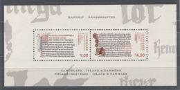 Denmark - 2014 Manuscripts Block MNH__(TH-12521) - Blocchi & Foglietti