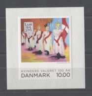 Denmark - 2015 Women's Suffrage MNH__(TH-12568) - Dänemark