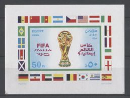 Egypt - 1990 African Parliamentarian Union Block MNH__(TH-18912) - Blocs-feuillets