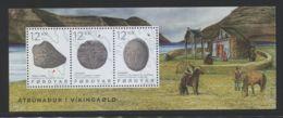 Faroe Islands - 2015 Religion In The Viking Age Block MNH__(FIL-6555) - Faroe Islands