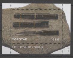 Faroe Islands - 2017 Faroese Knife Block MNH__(TH-15118) - Faroe Islands