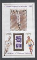 Fiji - 1996 Modern Olympic Games Block MNH__(TH-16938) - Fiji (1970-...)