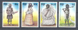 Fiji - 1998 Chief Costumes MNH__(TH-3508) - Fiji (1970-...)