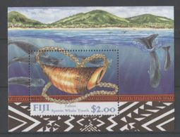 Fiji - 1998 Sperm Whale Block MNH__(TH-18240) - Fiji (1970-...)