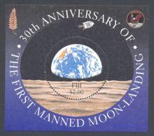 Fiji - 1999 Moon Landing Block MNH__(TH-3432) - Fiji (1970-...)