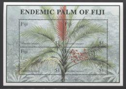 Fiji - 2000 Native Palm Block MNH__(THB-3758) - Fiji (1970-...)