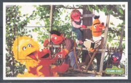 Fiji - 2000 Sesame Street Block (1) MNH__(TH-3920) - Fiji (1970-...)