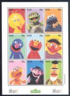 Fiji - 2000 Sesame Street Kleinbogen MNH__(THB-895) - Fiji (1970-...)