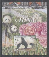 Fiji - 2009 Giant Panda Block MNH__(TH-8115) - Fiji (1970-...)