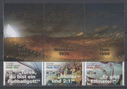 Germany (Federal Republic) - 2018 Legendary Football Games Strip MNH__(TH-14249) - Ungebraucht