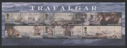 Great Britain - 2005 Battle Of Trafalgar Block MNH__(THB-4371) - Hojas Bloque