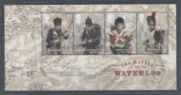 Great Britain - 2015 Battle Of Waterloo Block MNH__(TH-3136) - Hojas Bloque