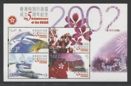 Hong Kong - 2002 Special Administrative Region Block MNH__(THB-3896) - 1997-... Sonderverwaltungszone Der China