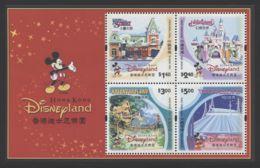 Hong Kong - 2003 Disneyland Block MNH__(THB-3911) - 1997-... Sonderverwaltungszone Der China