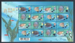 Hong Kong - 2003 Ornamental Fish Sheet MNH__(THB-1800) - 1997-... Sonderverwaltungszone Der China