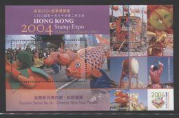 Hong Kong - 2003 STAMP EXPO 2004 (IV) Block MNH__(THB-3921) - 1997-... Sonderverwaltungszone Der China