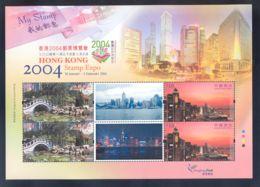 Hong Kong - 2004 HONG KONG STAMP EXPO 2004 (VII) My Stamp Block MNH__(THB-5755) - 1997-... Sonderverwaltungszone Der China