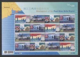 Hong Kong - 2004 Pearl River Delta Sheet MNH__(THB-5138) - 1997-... Sonderverwaltungszone Der China