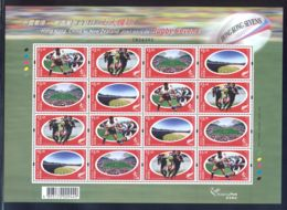 Hong Kong - 2004 Rugby Sevens Sheet MNH__(THB-5801) - 1997-... Sonderverwaltungszone Der China
