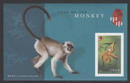 Hong Kong - 2004 Year Of The Monkey Block (2) MNH__(THB-3916) - 1997-... Sonderverwaltungszone Der China