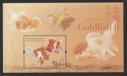 Hong Kong - 2005 Goldfish Block (2) MNH__(THB-4006) - 1997-... Sonderverwaltungszone Der China