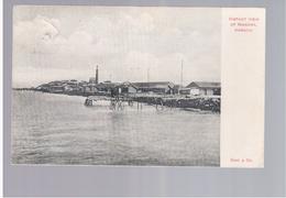 PAKISTAN Distant View Of Manora, Karachi 1910 Old Postcard - Pakistan
