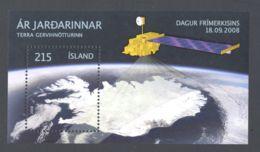Iceland - 2008 Year Of The Planet Earth Block MNH__(TH-7611) - Blocchi & Foglietti